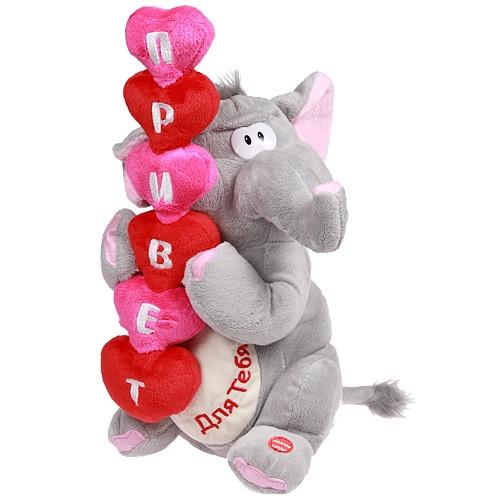 """Sunny Toys Поющая игрушка """"Приветливый слоник"""" - купить в Москве в интернет магазине. Sunny Toys (Санни Тойс) Поющая игрушка """"Пр"""